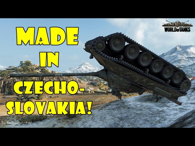 World of Tanks - Funny Moments | MADE IN CZECHOSLOVAKIA! (world of tank, приколы, моды, читы, wot)