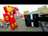 Видео #Майнкрафт Железный Человек VS Эндермен! Битва за Шахту! Игры #длямальчиков ...
