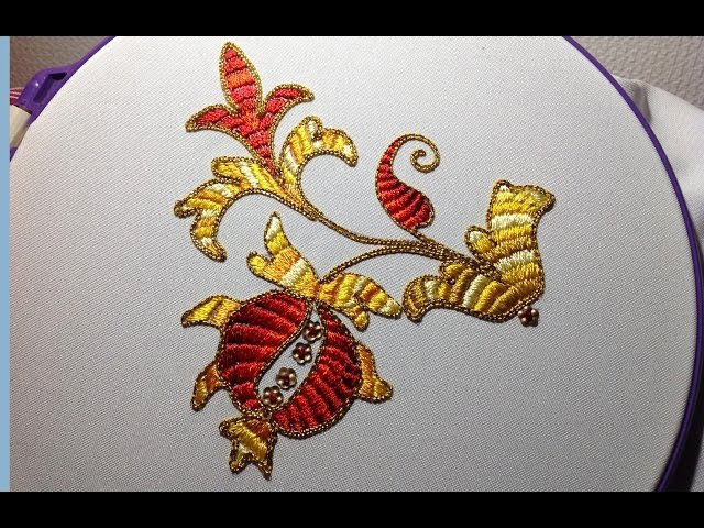 Embroidery Encroachihg   Вышивка Китайская