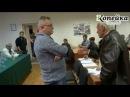 Студенты и преподаватели выгнали агитатора Единой России!