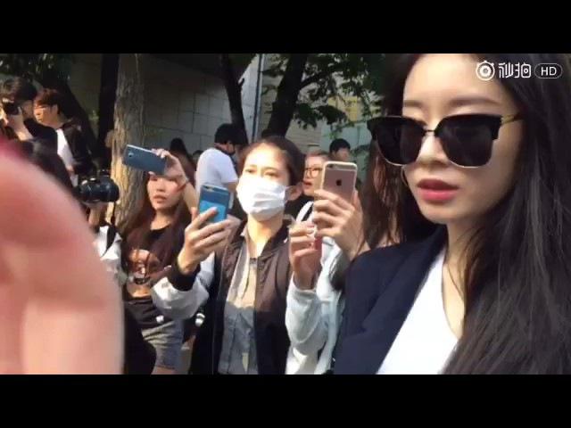 170616 Fancam T-ara 티아라 Music bank by 敏妍吧