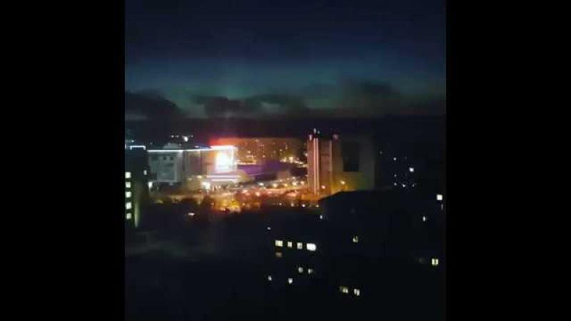 Взрыв на подстанции в Мурманске