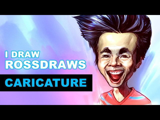 I Draw ROSSDRAWS Collab Caricature