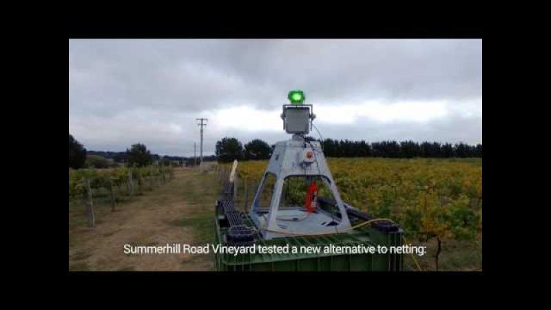 Summerhill Road Vineyard - Agrilaser Autonomic Test Results