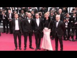 Uma Thurman, Michelle Yeoh and more on the red carpet for the Premiere of Nelyubov in Cannes