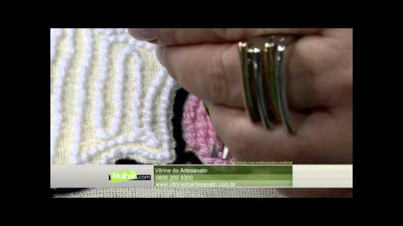 MPC 150331 TANIA SILVA TAPETE GATINHA COM AGULHA MAGICA PT2