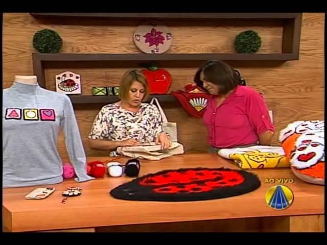 Tapeçaria com Agulha Mágica | Sabor de Vida - 21 de Agosto de 2012