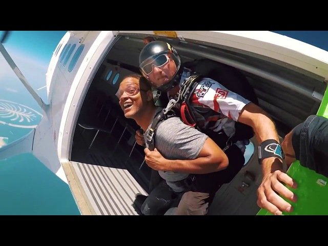 Will Smith - Skydiving in Dubai