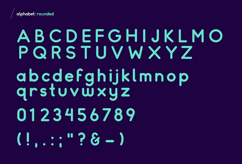 Somatic Rounded шрифт скачать бесплатно
