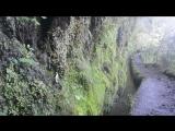 Мадейра. Ливады водоводы в горах у Сантаны. Сбор дождевой воды.