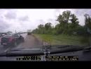 Авария по дороге в Анапу.