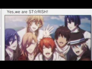 STARISH - Mirai, Yume, Arigatou... Soshite! (rus sub)