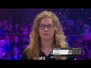 Lisa Ashton vs Aileen de Graaf (BDO World Darts Championship 2017 / Semi Final)