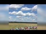 Под Минском чудом не разбился вертолёт Ми-2