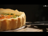 Невроятно вкусной мясной Киш