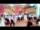 Выпускной детского сада.Танец с голубями