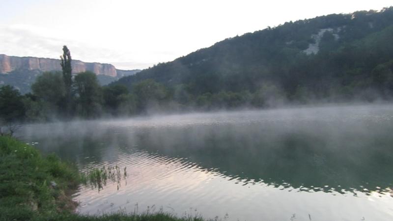 Горное озеро Бахчисарай...расвет
