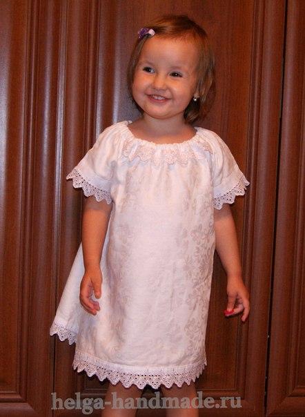 Крестильная платье для девочки своими руками 249