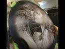 Рисуем Девушку со змеей на запаску