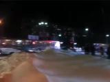 Трамвай VS автобус incident_uka