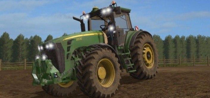 Трактор «John Deere 85...