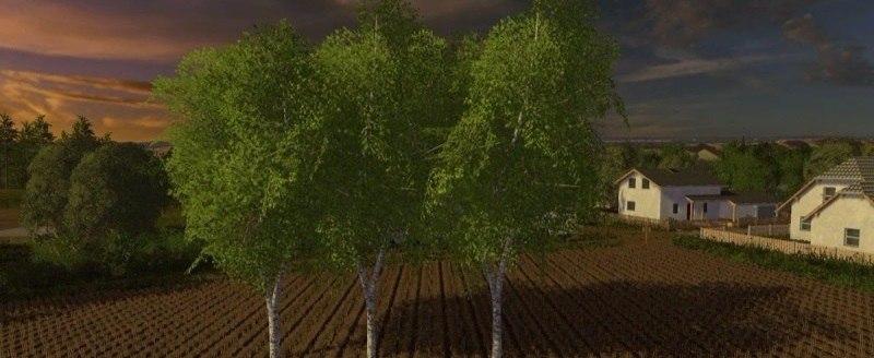 Купить деревья «Little birch» объект