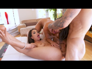Adriana Chechik and Vicki Chase Are A Lady And The Tramp Before A Big Cock Makes Them Anal Savages [group sex porno HD]