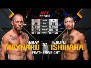 The Ultimate Fighter 25 Грэй Мэйнард vs Теруто Ишихара полный бой