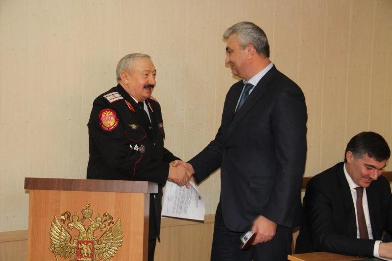 Казимир Боташев стал казаком Баталпашинского казачьего отдела