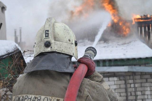 В Зеленчукской сгорел жилой дом