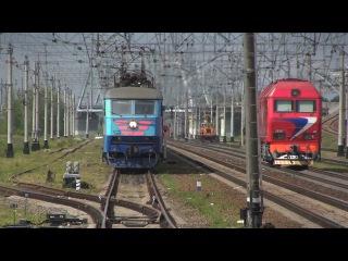 ЧС6-001 с поездом Санкт-Петербург — Кисловодск