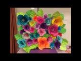 DIY Paper Flower Backdrop - Part 12