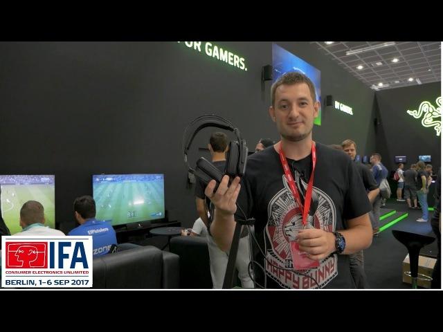 НАУШНИКИ ОТ RAZER ! Razer Tiamat 7.1 V2 и Razer Tiamat 2.2 V2 ✔ IFA 2017