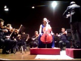 Tina Guo  Saint-Saens Cello Concerto with Bari Symphony Mvt 1