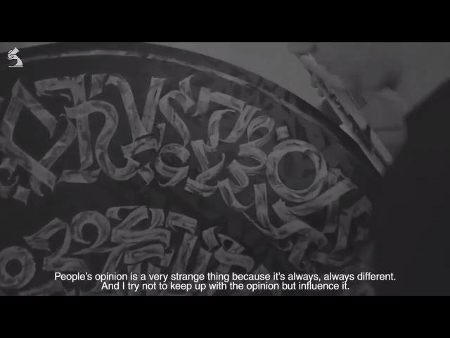 Pokras Lampas Calligraphy Calligrafuturism - Interview by Street Art Lab