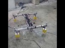 Quadcopter with gas motor DLE 30cc. and APM 2.8