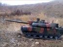 Модель из бумаги танк Leclerc AMX-56