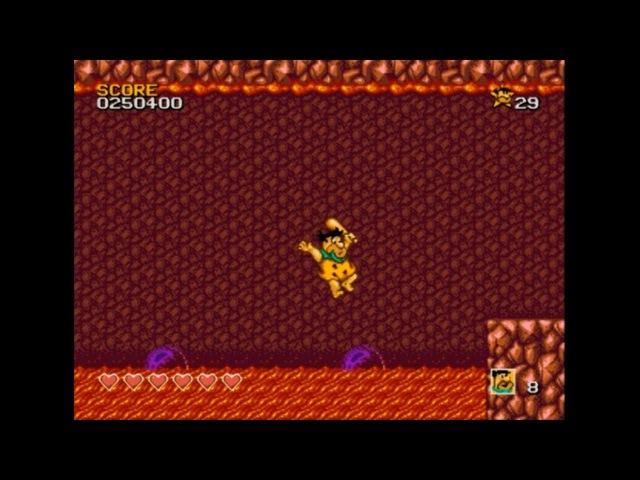 The Flintstones. SEGA Genesis. Walkthrough (No Death)