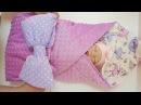 Одеяло-конверт – идеальный вариант для выписки из роддома от ТМ «Крошкин дом»