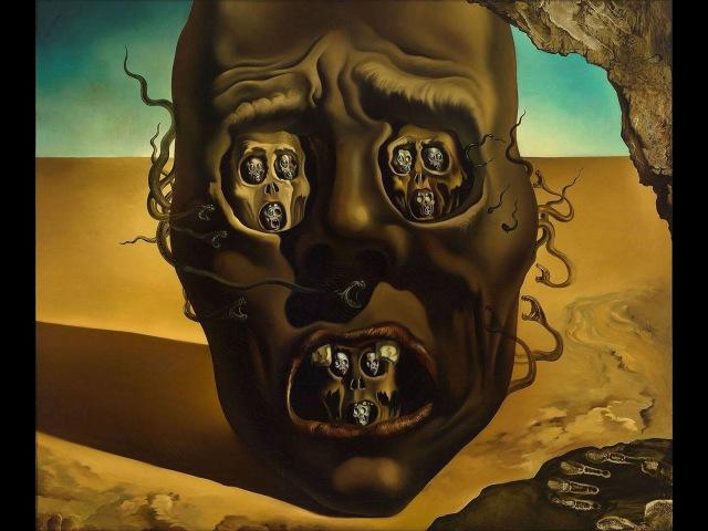 Лицо войны, Сальвадор Дали - обзоры картин
