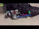 Автоматическая шнуровка кроссовок с помощью Lego