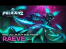 Paladins New Legendary Collection Raeve Maeve