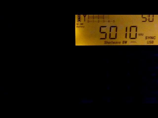 5010 kHz Radio Misionnes International, 13.06.17 Honduras, Tegucigalpa (Гондурас, Тегульсигальпа)