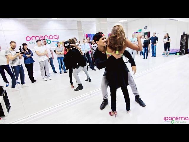 [Zouk Demo] Felipe Garcia Erica Tintel | 21.02.2017 @ dance studio «Ipanema»