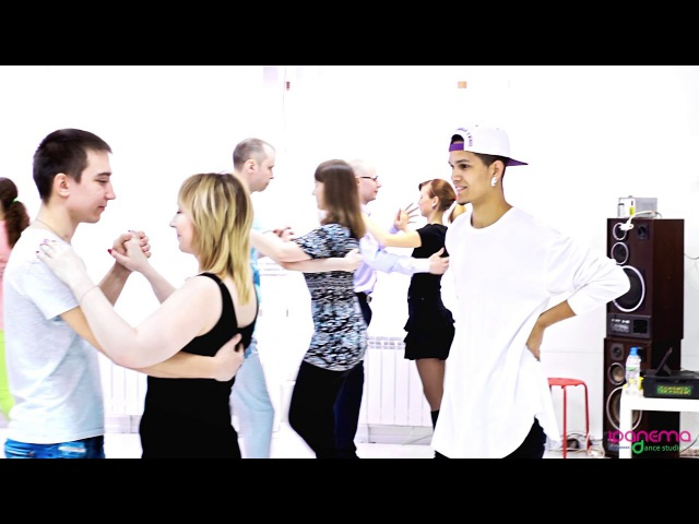 Samba de Gafieira Class with Felipe Garcia Erica Tintel    26.02.2017 @ dance studio «Ipanema»