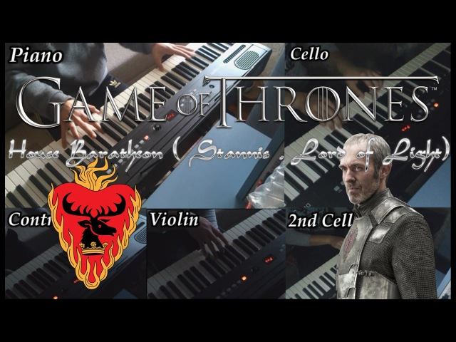 Game of Thrones- House of Baratheon (Stannis, Lord of Light) theme -PianoOrchestral cover