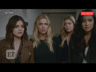 Субтитры » EXCLUSIVE: Watch the First Minute of 'Pretty Little Liars' Final Season Premiere!