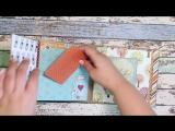I love family by Echo park paper mini album - семейный альбом на магнитах