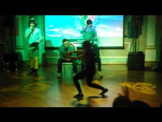 Академия Москва ноябрь 2016 Танцевальный баттл Юна Мирзоева
