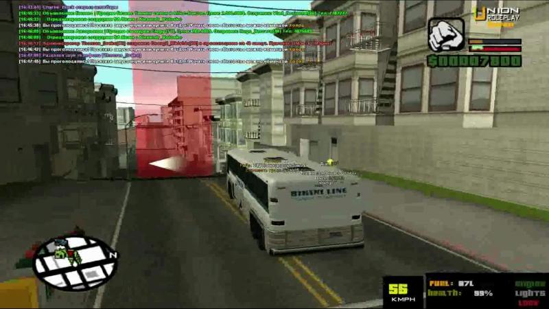 автобусник и нарко на Union RP!SAMP